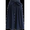 Chicwish Bowknot Passion Midi Skirt - Skirts - $40.00