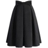 Chicwish black and white spotted dress - Krila -