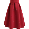 Chicwish skirt in red - Skirts -