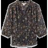 Chiffon top - Košulje - kratke -