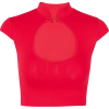 Chinese knotted short-sleeved t-shirt - Shirts - $21.99