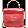 Chloé Aby Lock crocodile-effect leather - Borsette -