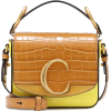 Chloé C Mini leather shoulder bag - Messenger bags -