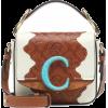 Chloé C Mini leather shoulder bag - Messaggero borse -