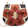 Chloé Drew mini leather and suede bag - Bolsas de tiro -