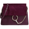 Chloé - Faye medium leather and suede sh - Hand bag -