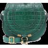 Chloé Marcie Small leather shoulder bag - Messenger bags -