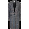 Chloé Prince of Wales Check Coat - Jacket - coats -
