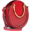 Chloe Pixie Leather Bag Red - Hand bag - $1,550.00