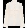 Chloe Silk Blouse Buttercream - 長袖シャツ・ブラウス - $1,150.00  ~ ¥129,431