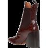 Chloe Wave Chelsea Boot - Botas -