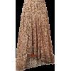 Chloe  floral-print georgette skirt - Spudnice -