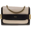 Chloe leather elle chain clutch - Borse con fibbia -