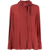 Chloé embroidered-collar silk blouse - Camicie (lunghe) -
