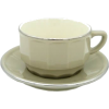 Chocolate Cup and Saucer LePigalle - Furniture -