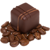 Chocolate and coffee beans - Food -
