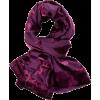 Christian Dior Purple Silk scarf - スカーフ・マフラー -