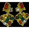 Christian Lacroix Heart Earrings - イヤリング - $487.99  ~ ¥54,922