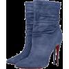 Christian Louboutin - Denim boots - Boots -
