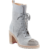 Christian Louboutin TS Croc Wool and Lea - Boots - $1,595.00