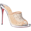 Christian Louboutin Violas Mesh Red Sole - Sandals - $1,095.00