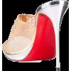 Christian Louboutin Violas Mesh Red Sole - Sandals - $1,905.00