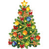 Christmas  tree - Illustrazioni -