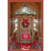 Christmas Door - Pozadine -