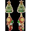 Christmas Earrings - Ohrringe -