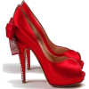 Christmas Pumps with bow - Classic shoes & Pumps -