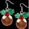 Christmas earrings - Kolczyki -
