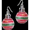 Christmas earrings - Uhani -
