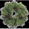 Christmas wreath. Green - インテリア -