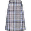 Christopher Kane Cotton Pleated Check Sk - Skirts - 684,00kn  ~ £81.83