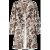 Christopher Kane Jacket - coats Beige - Giacce e capotti -