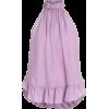 Cinq-A-Sept Silk Top Lavender - Koszule - krótkie -