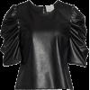 Cinq à Sept Erin Faux Leather Top - Camicie (corte) -