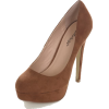 Cipele Platforms Brown - Platformke -