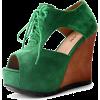 Cipele Platforms Green - Platforms -