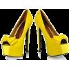 Shoes Yellow - Scarpe -