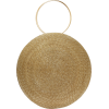 Circle maxi woven-straw bag - Hand bag -