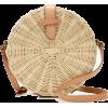 Circle straw crossbody bag - Carteras -