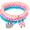 Claire's Club Pearl Stretch Bracelets - Bracelets -