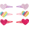 Claire's Glitter Heart Barrettes - Other jewelry -