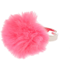 Claire's Pink Fluffy Pom Pom Ring - Rings -