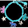Claire's Unicorn Charm Bracelet - Bracelets -