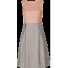 Classy cuts two colour dress - Vestidos -