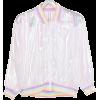 Clear Pastel Bomber Jacket - Jacket - coats -