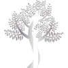 Clipart - Simple Silver Tree - Природа -