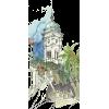 Clock Tower, Poros, GR  - Ilustracije -